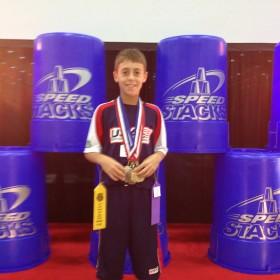 CRES Student Nick Stamm @ AAU Jr. Olympics