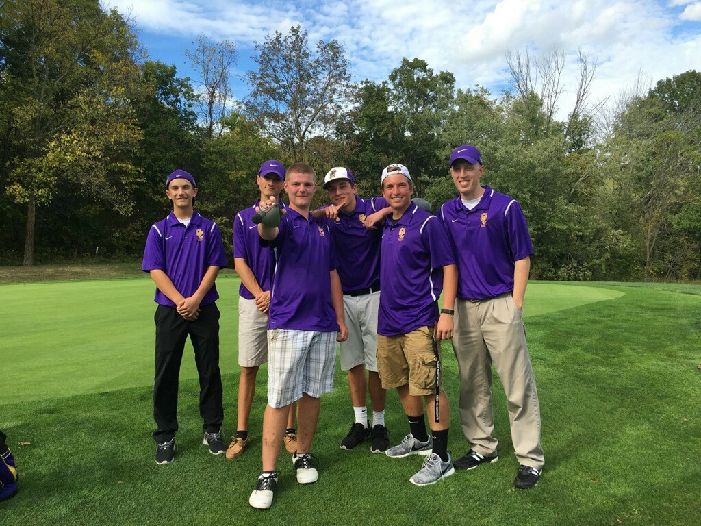 Campbell County Boys Golfers pictured after the regional tournament yesterday.