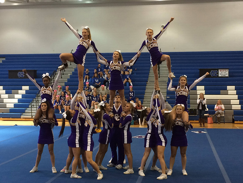 Campbell County Camels Cheerleading