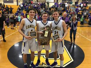 Drew Wilson, Joel Day, Tanner Clos