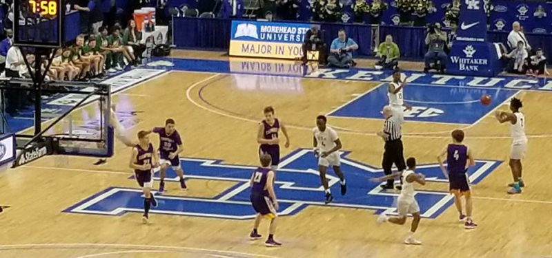 Campbell County Boys Basketball At Rupp