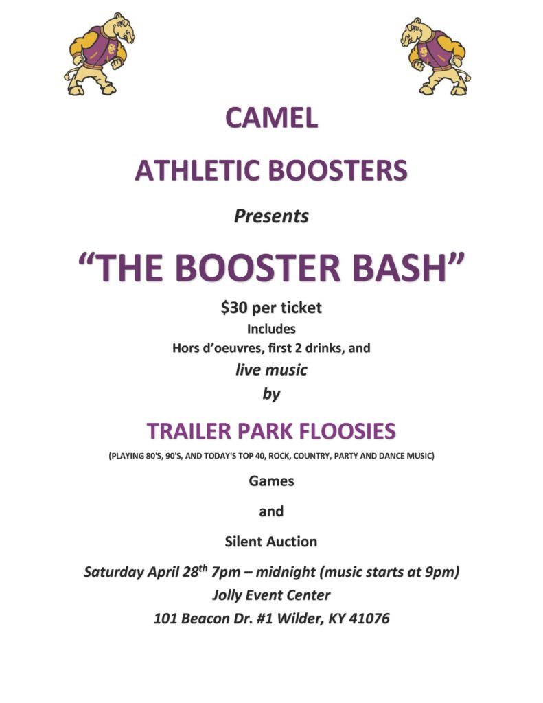 Boosters Bash
