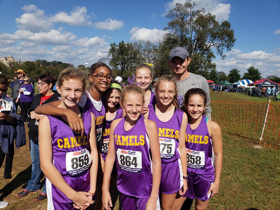 CCMS Girls Cross Country finishes 3rd in state