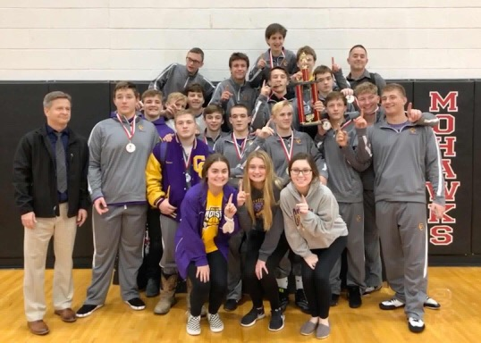 The Campbell County wrestling team captures their 27th NKAC conference title