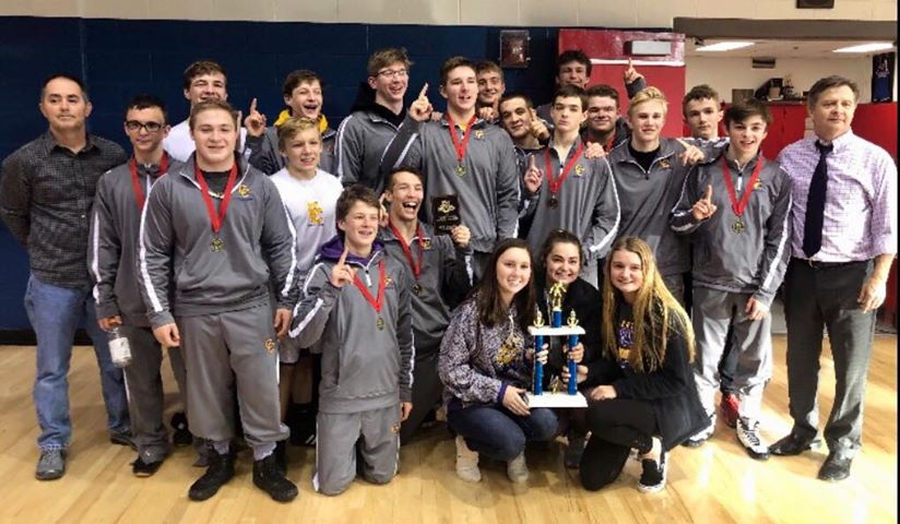 Campbell County Wrestling Conner Cougar Invitational Champions