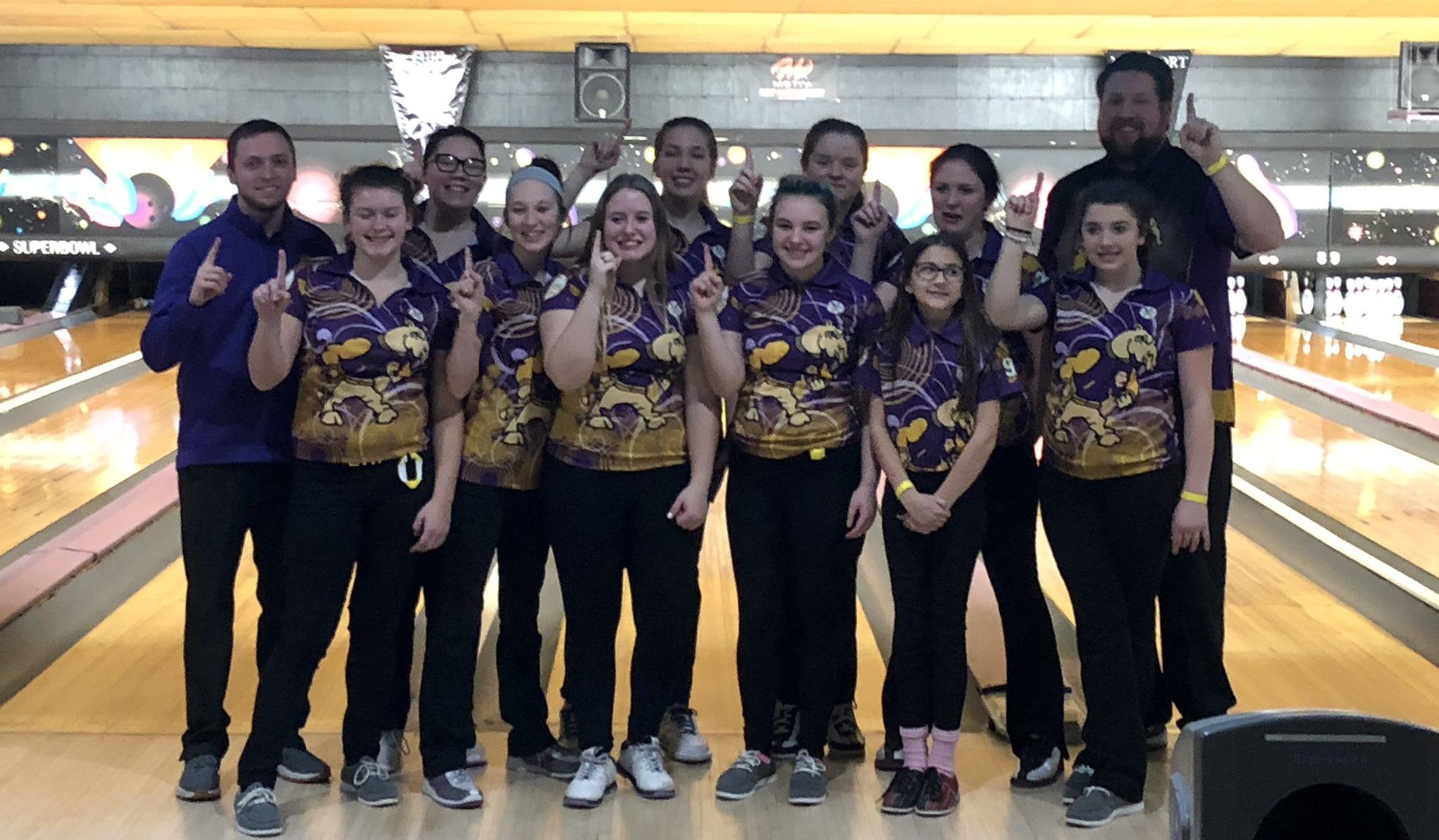 Campbell County Girls Bowling