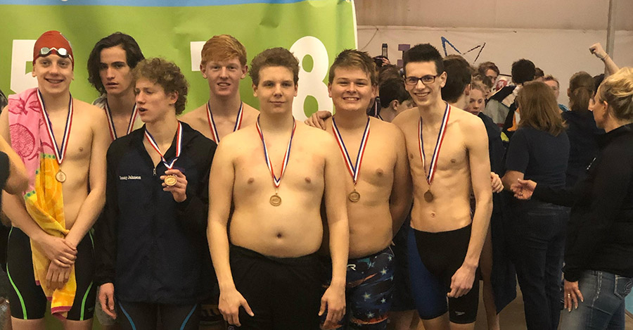 Campbell County Boys Swimmers