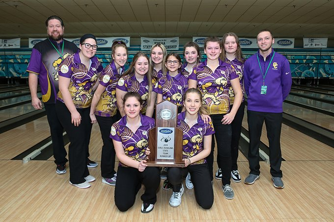 Campbell County Girls Bowling State Runner Ups