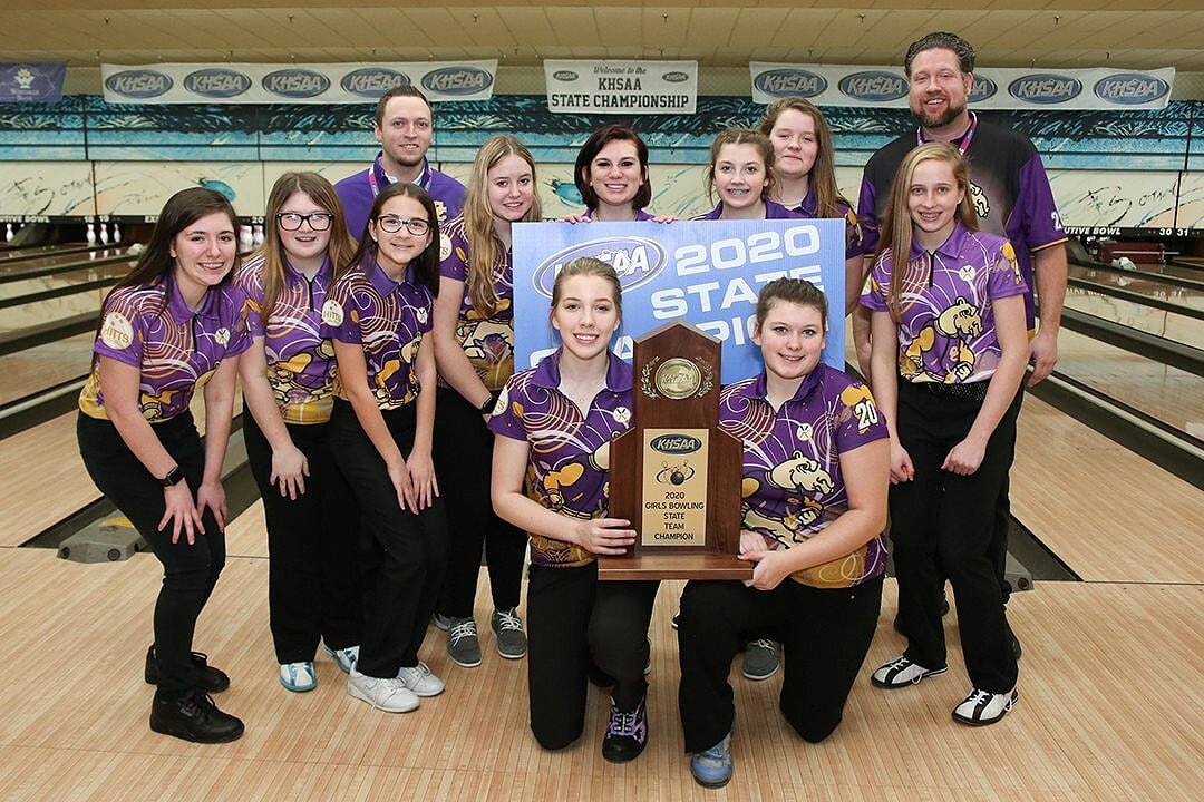 Campbell County Girls Bowling State Champs